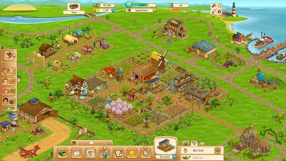 Spiel Big Farm
