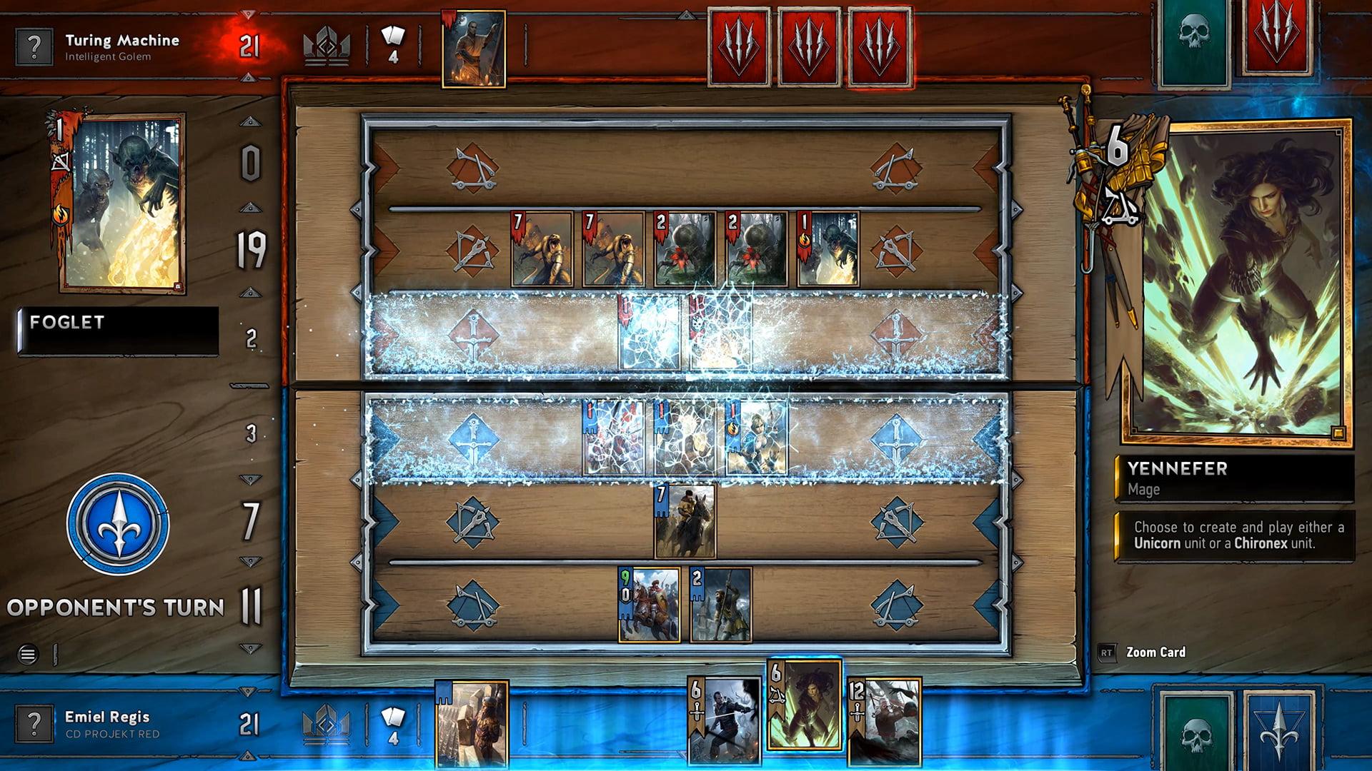 Gwent card game lagging