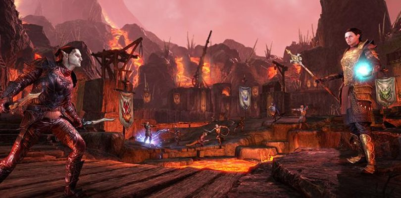 The Elder Scrolls Online: PAX Battleground Highlights