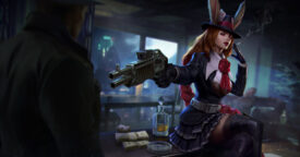 Vainglory: New Gangster Gwen Rare Skin