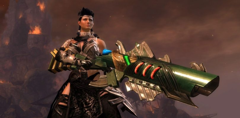 Guild Wars 2: Champion of Tyria Outfit, Mini Squire Aurene, and