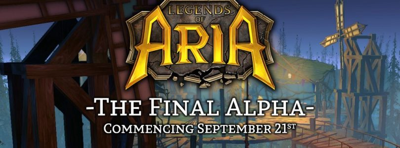 Legends of Aria: Final Alpha Launching September 21st