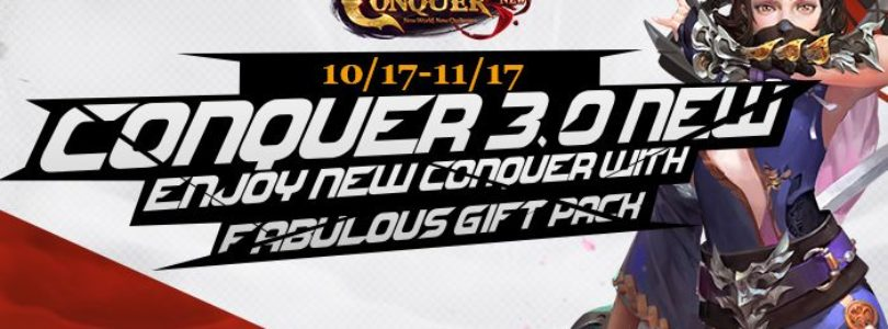 Conquer Online 3.0 Gift Key Giveaway!