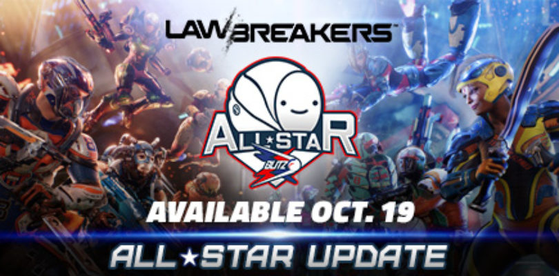 Free LawBreakers Weapon Sticker (DLC)!