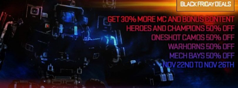 MechWarrior Online: Black Friday!