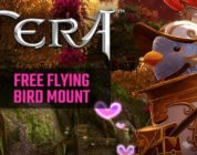 TERA Free Flying Bird Mount Giveaway! (North America server)
