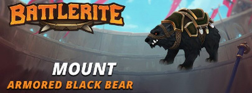 Battlerite – Armored Black Bear Steam keys giveaway