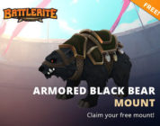 Battlerite Armored Black Bear