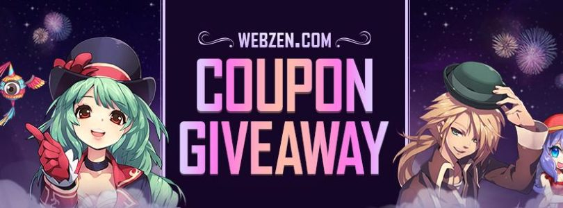 Webzen 10th Anniversary Coupon Giveaway