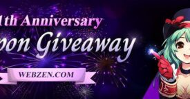Webzen 11th Anniversary Giveaway [ENDED]
