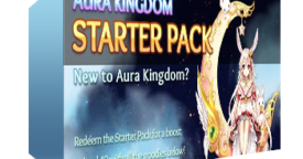 Aura Kingdom Starter Pack Key Giveaway