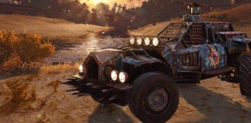 Grab a Crossout Beach Buggy code from Gaijin and Massively OP! [ENDED]