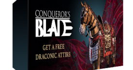 Conqueror's Blade: Draconic Attire Pack Key Giveaway [ENDED]