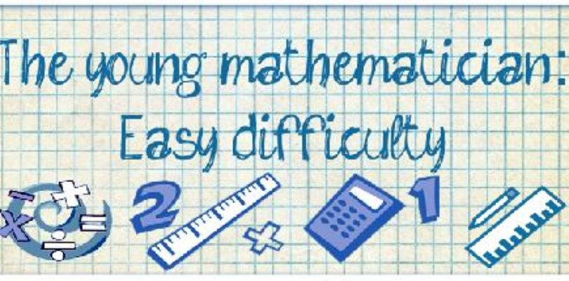 Free The young mathematician: Easy difficulty [ENDED]